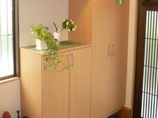 内装リフォーム 採光と収納がタップリ!生まれ変わった玄関
