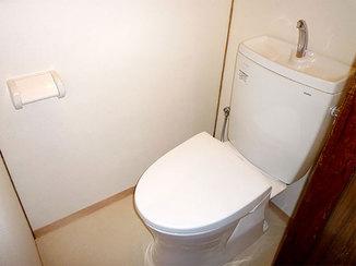 トイレリフォーム 古かった和式トイレを温かい洋式トイレに